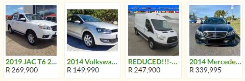 Gumtree Cars For Sale in South Africa