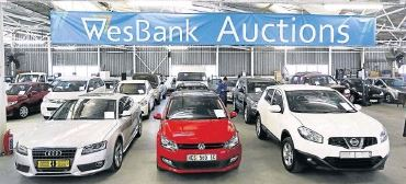 Wesbank Auctions For Repossessed Cars Used Cars For Africa