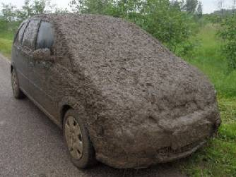 Very Muddy Car