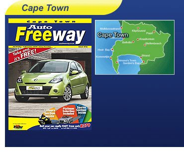 Cape Town Auto Freeway Car Magazine
