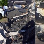 Ford KUGA's Burning in South Africa